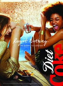 Diet Coke Regret Nothing campaign