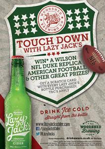 Lazy jack's Super Bowl promotion