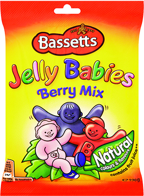 Bassetts Jelly Babies Berry Mix