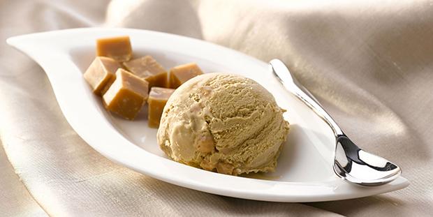 Gelato Gold Salted Caramel Fudge Ice Cream