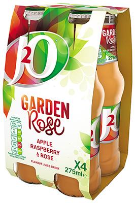 J2O Garden Rose 4x275ml
