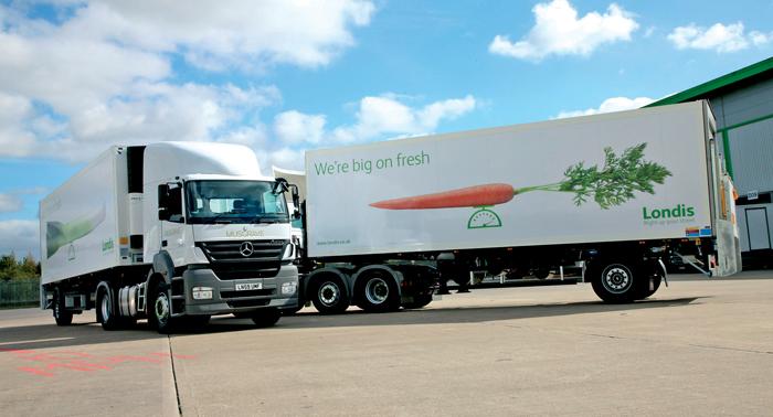 Londis lorries