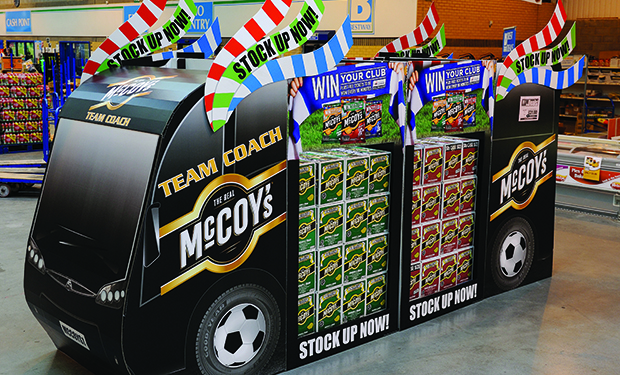 KP McCoys Promotion at Bestway, Enfield