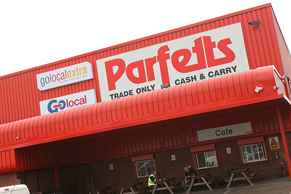 Parfetts Aintree depot