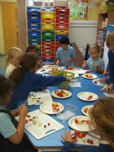 Primary school food