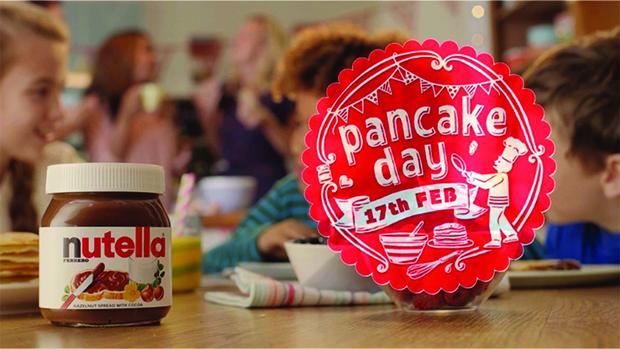 Nutella Pancake Campaign